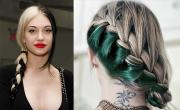 2017 hair trends split color