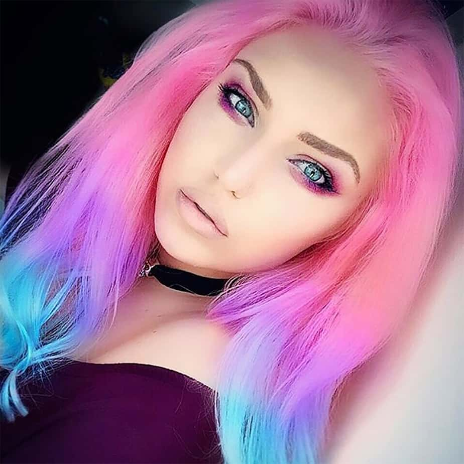 Pastel hair Hair color 2017