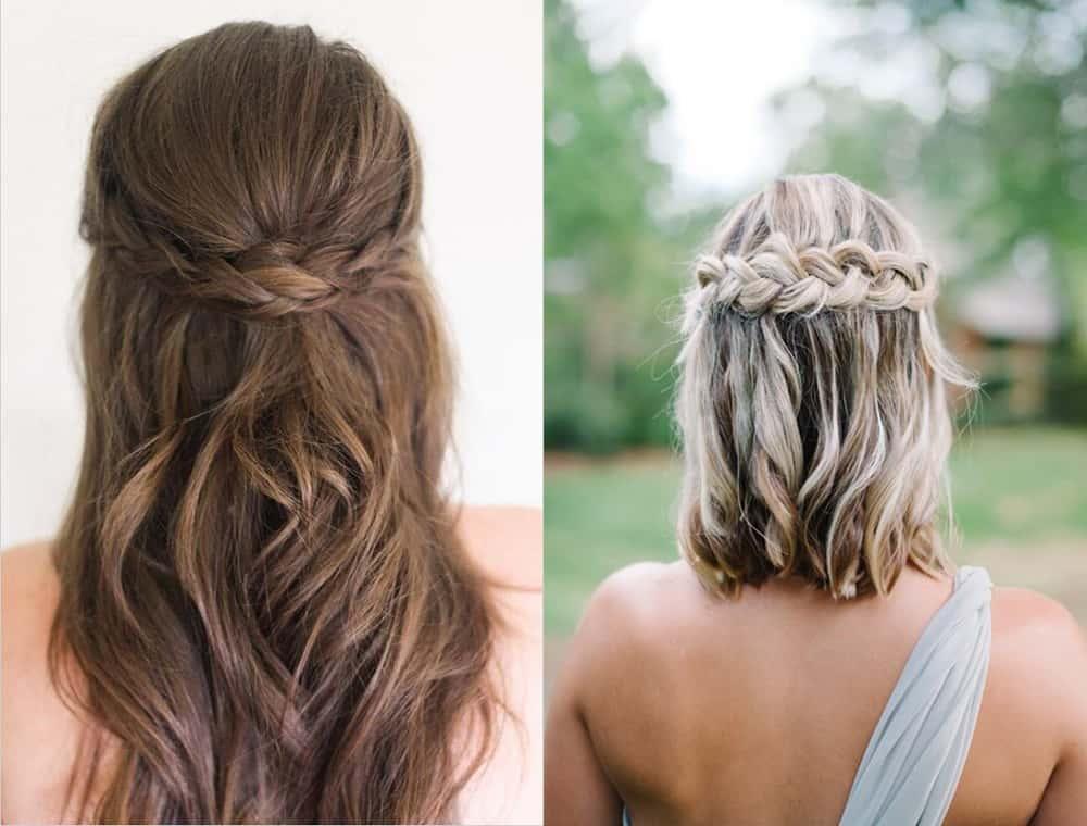 Bridesmaid Hairstyles 2018 Inspiration Tendencies Tips