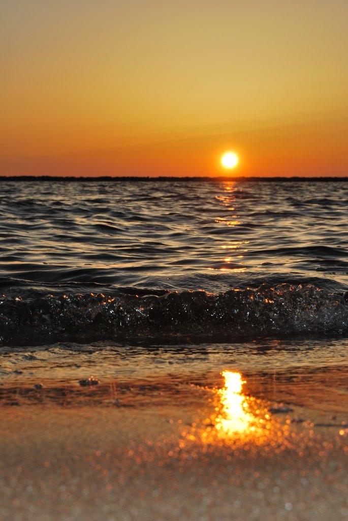 夕陽,千里浜,なぎさドライブウェイ,千里浜なぎさドライブウェイ,サンセット,砂浜