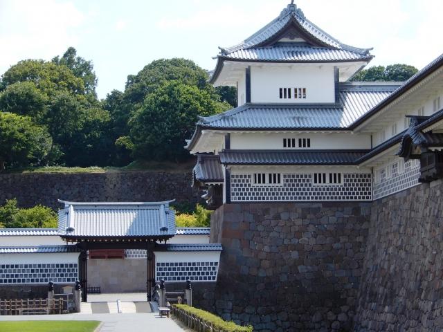 橋爪門,金沢城,橋爪続櫓,三御門