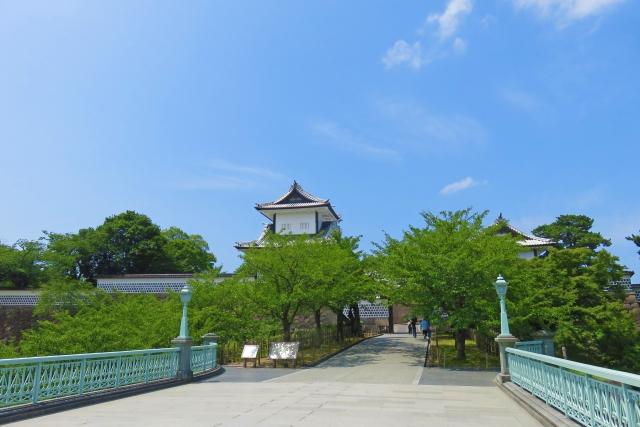 石川門,三御門,金沢城
