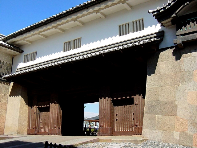 河北門,金沢城,河北門二の門
