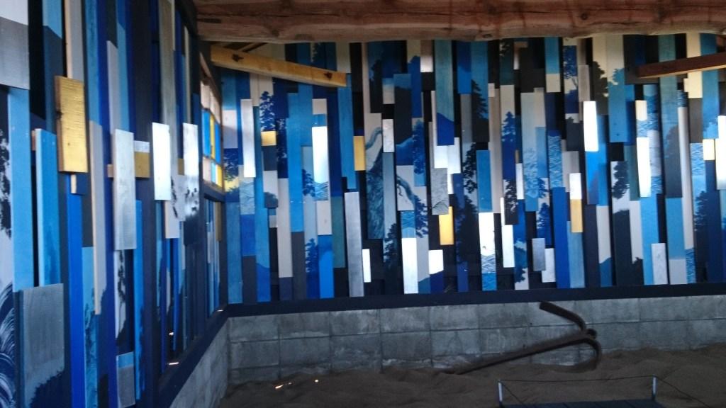 奥能登国際芸術祭,青い船小屋