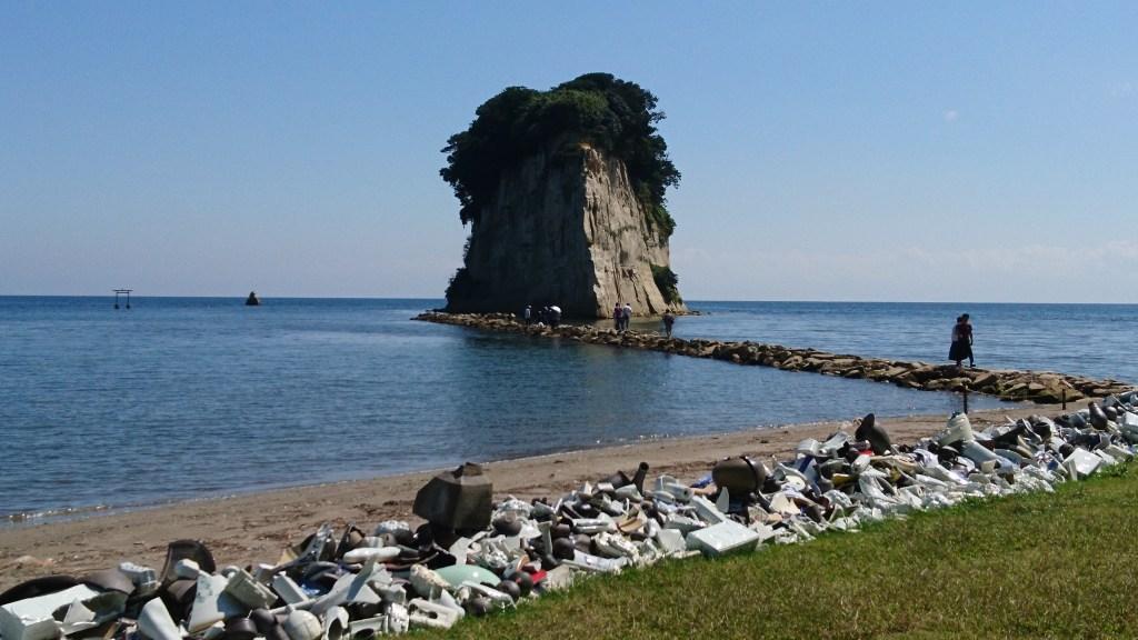 奥能登国際芸術祭,見附島