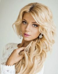 bridal hairstyles curls for long hair