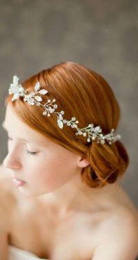 Wedding Hairstyle with Tiara