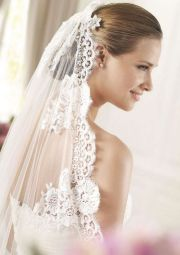 wedding hairstyles with long veil
