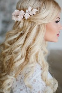 Wedding Hairstyles For Long Hair With Flowers | wedding ...