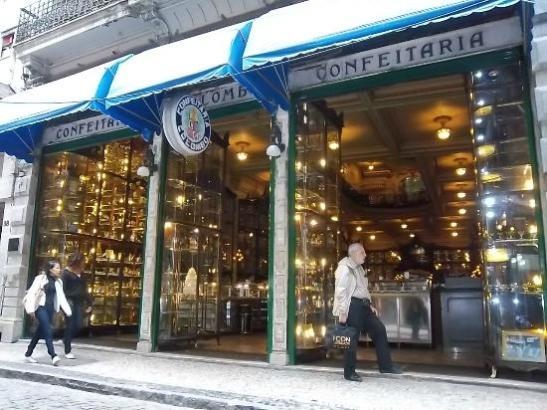 Image result for Café Confeitaria Colombo outside