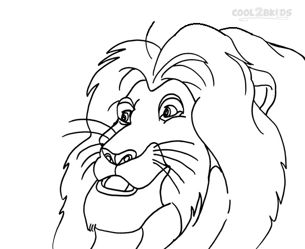 Mufasa Coloring Coloring Pages