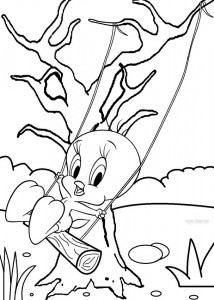 Printable Tweety Coloring Pages For Kids Cool2bKids