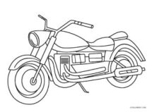 Free Printable Motorcycle Coloring Pages For Kids Cool2bKids