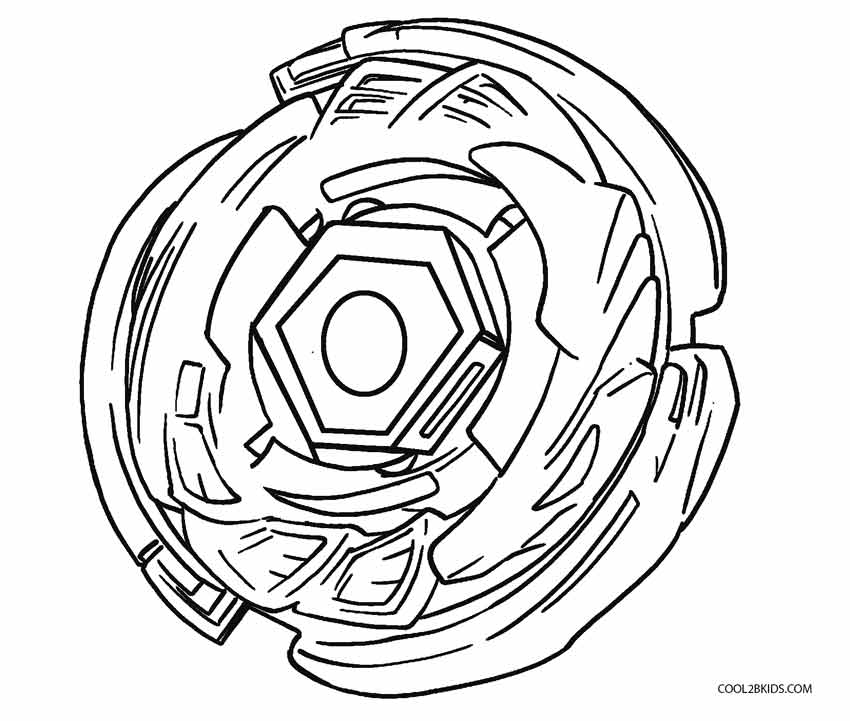 Beyblade Para Colorear Evolution Burst Pages Coloring Page