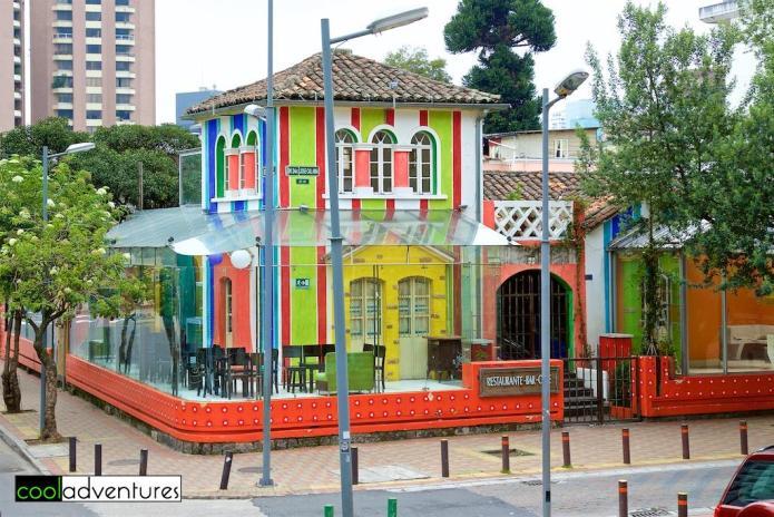 Restaurants and bars of La Marsical and Plaza Foch, Quito, Ecuador