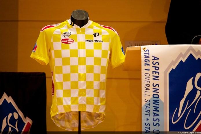 USA Pro Challenge 2013 yellow jersey