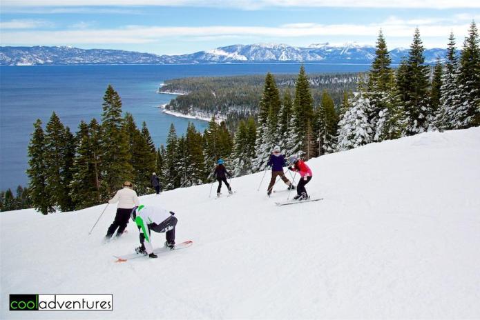 Homewood Ski Resort views, Lake Tahoe, California
