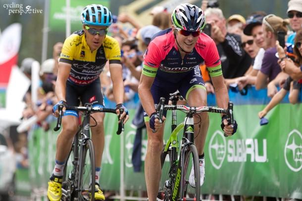 Tom Danielson, Chris Horner, Tour of Utah 2014 Stage 6