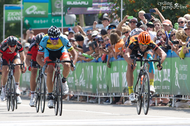 Eric Young wins Tour of Utah 2014 Stage 5 Photo: Greg K Hull © Chasing Light Media
