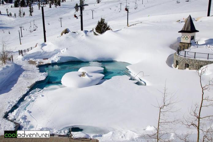 High Camp pool & hot tub, Squaw Valley, Lake Tahoe, California