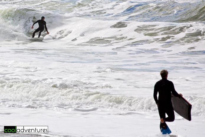 Surfing, Santa Cruz, California