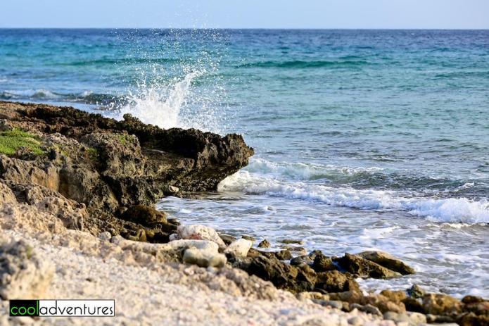 Rugged coastline area, Santa Barbara Resort, Curacao