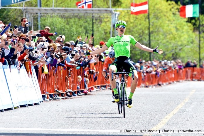 Toms Skujins wins 2016 Amgen Tour of California Stage 5