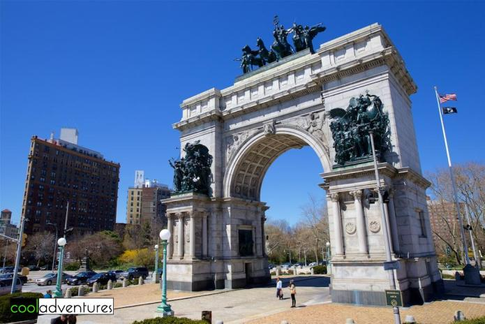 The Soldiers' and Sailors' Arch, Brooklyn, New York