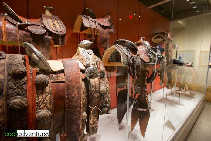 Saddles, The Briscoe Western Art Museum, San Antonio, Texas