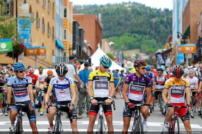 Tour of Utah 2013 Stage 6 stage start