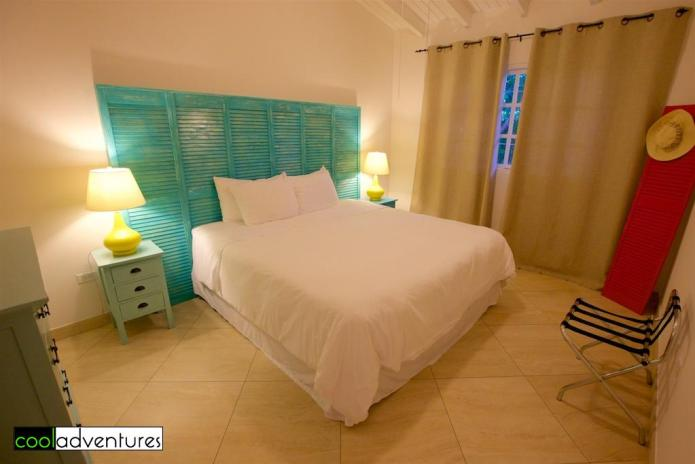Bedroom in one bedroom casita, Boardwalk Aruba
