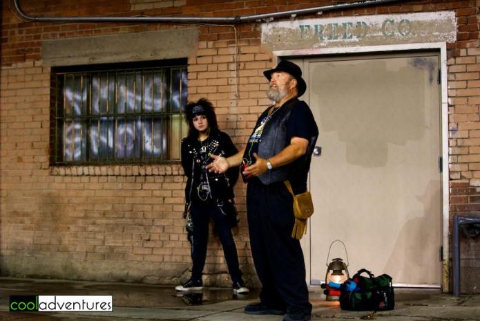 Albucreepy Downtown Ghost Walk, Albuquerque, New Mexico