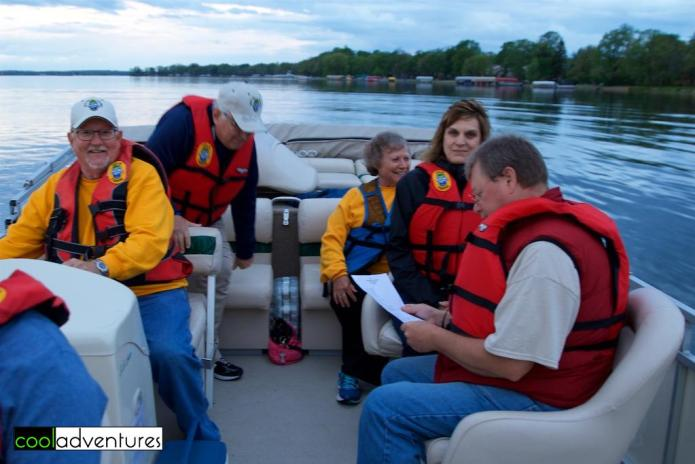 Dave Hochhalter, Ron Zeman, Betty Hochhalter, Cleone Stewart, Let's Go Fishiing, Detroit Lakes