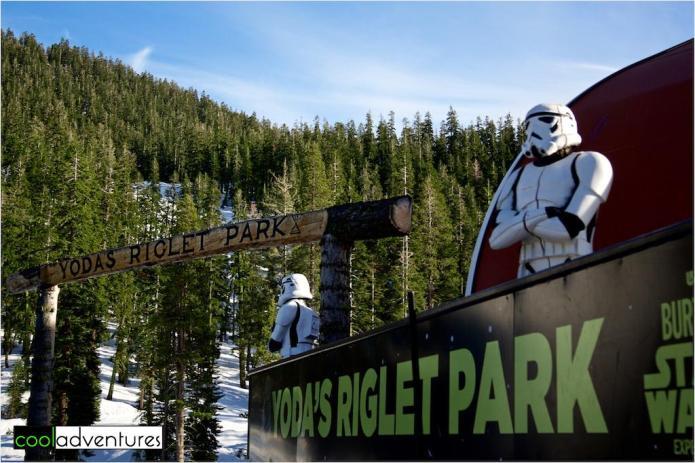 Yoda's Riglet Park at Sierra at Tahoe