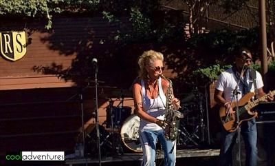 Mindi Abair at Rodney Strong Concert Series 2014