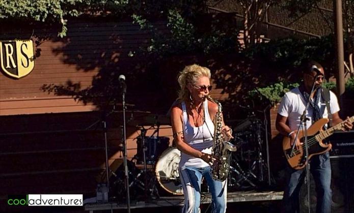 Mindi Abair at Rodney Strong Concert Series 2014