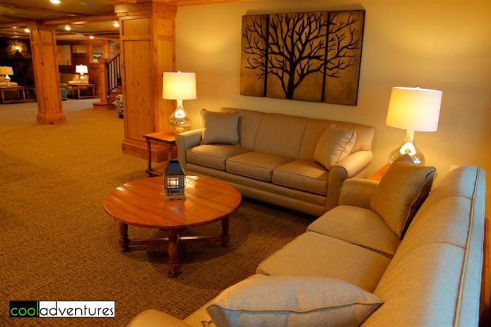 Wilson Bay venue seating area, Madden's Resort