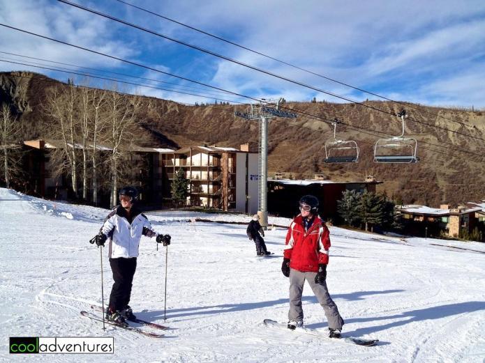 Skiing Snowmass, Aspen, Colorado