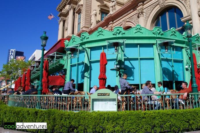 Mon Ami Gabi, Paris, Las Vegas, Nevada