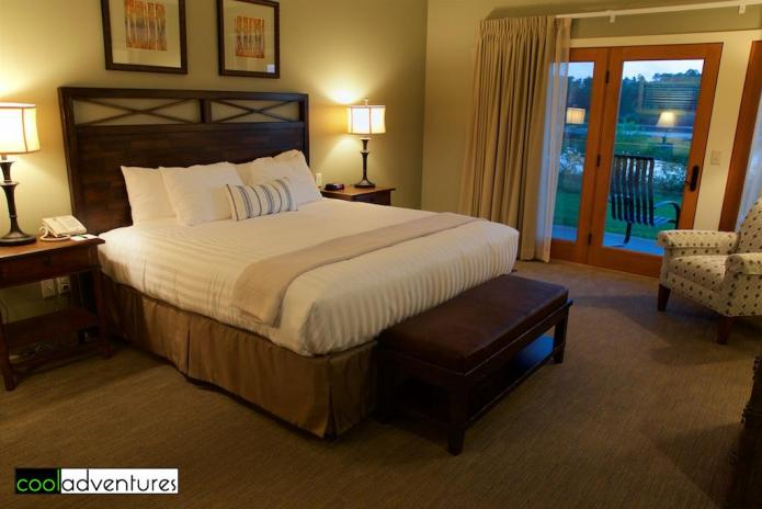 Room in the The Voyageur complex at Madden's Resort, Brainerd, Minnesota
