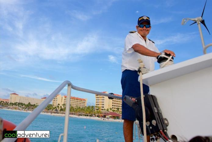 Captain Darcy Tromp, Red Sail Sports, Aruba
