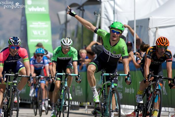 Moreno Hofland wins Tour of Utah 2014 Stage 3