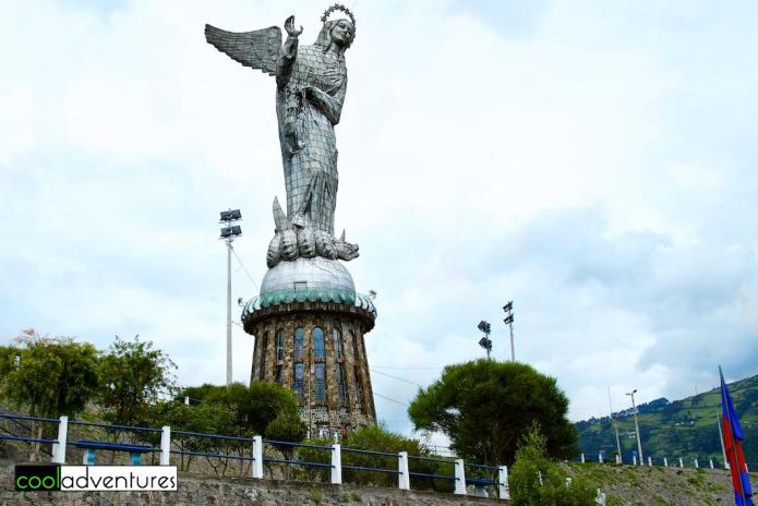 Virgen de Quito at Mirador El Panecillo, Quito, Ecuador