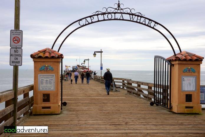 Capitola Wharf, Capitola Village, California