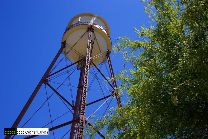 Martin Ray water tower, Santa Rosa, California