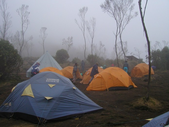 Climbing Kilimanjaro Machame Route Day 1