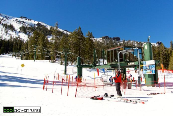 The Bunny Lift at Kirkwood Mountain Ski Resort