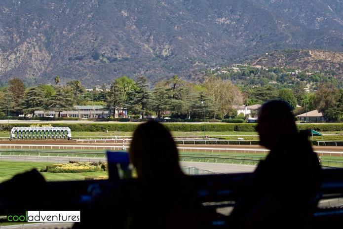 The Gallop Out, Santa Anita Park, Arcadia, California