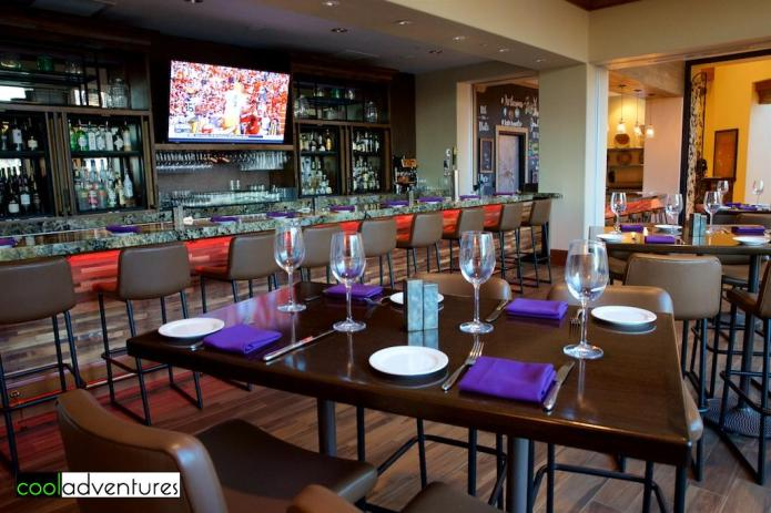 Signature Grill bar at Starr Pass Resort, Tucson, Arizona