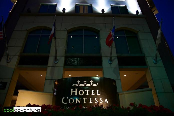Hotel Contessa entrance